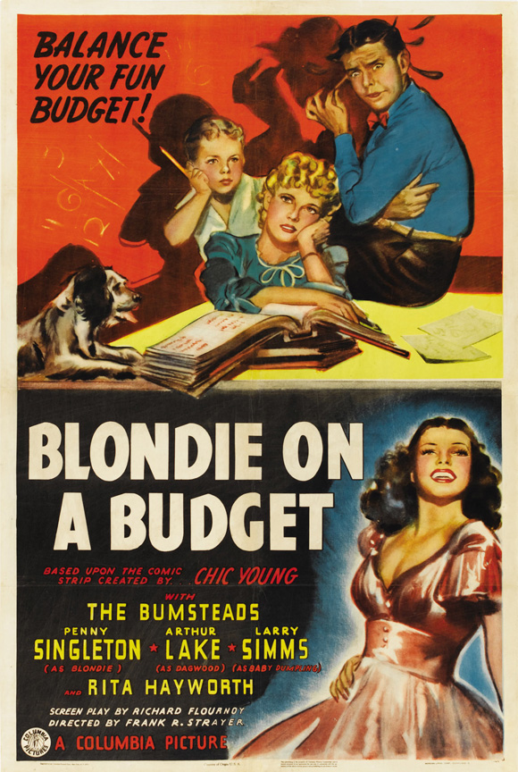Blondie on a Budget 1940 DVD - Penny Singleton Arthur Lake