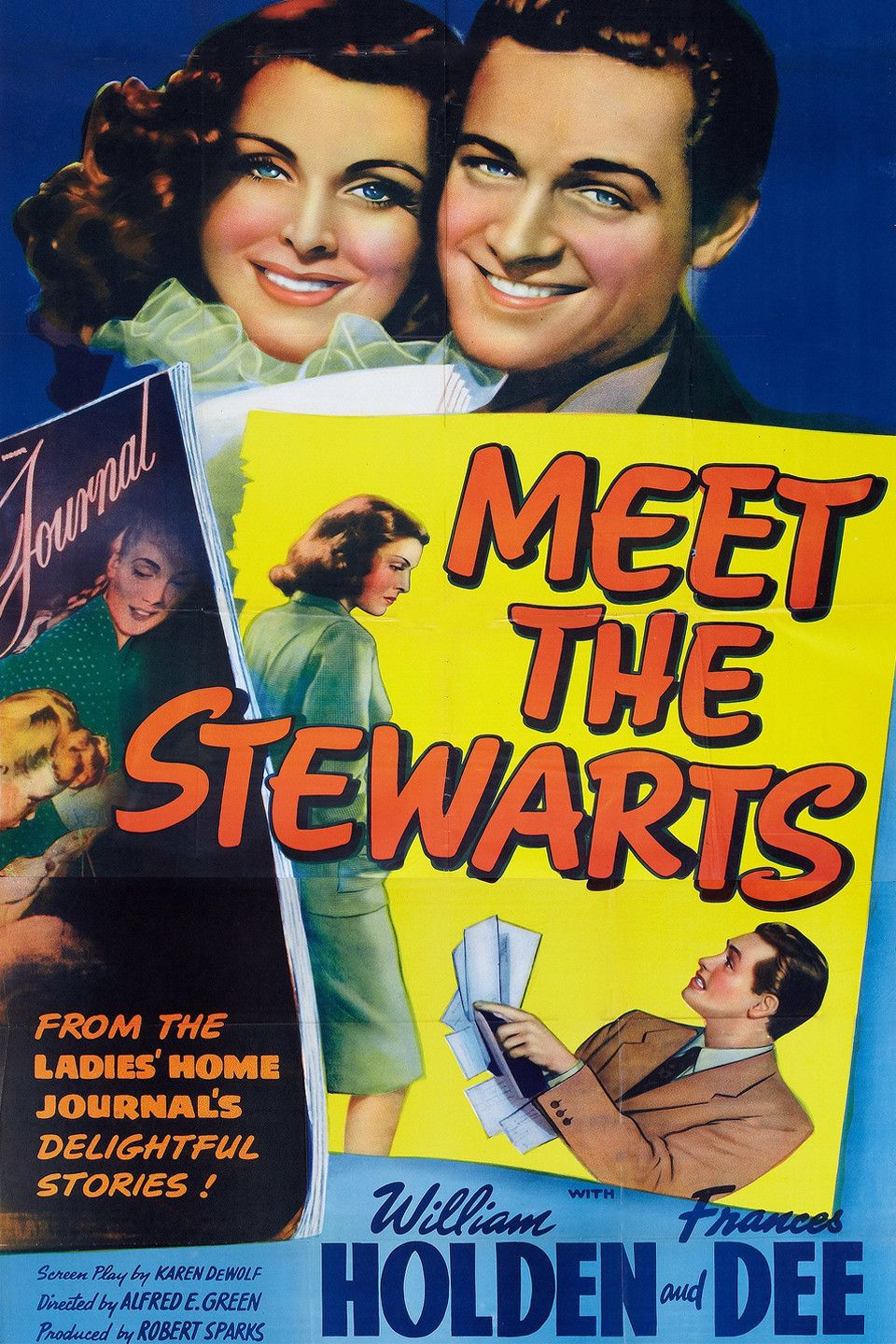 Meet the stewarts 1942 dvd william holden frances dee for The stewarts
