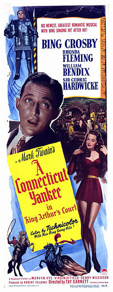 A Connecticut Yankee in King Arthur's Court 1949 DVD - Bing Crosby / Rhonda Fleming