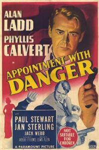 Appointment with Danger 1951 DVD - Alan Ladd / Phyllis Calvert