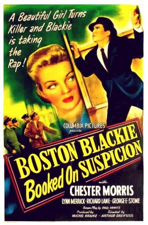 Boston Blackie Booked on Suspicion 1945 DVD - Chester Morris / Lynn Merrick