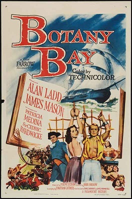 Botany Bay 1953 DVD - Alan Ladd / James Mason