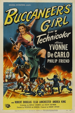 Buccaneer's Girl 1950 DVD - Yvonne De Carlo / Philip Friend