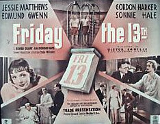 Friday the Thirteenth 1933 DVD - Jessie Matthews / Sonnie Hale