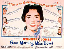 Good Morning, Miss Dove 1955 DVD - Jennifer Jones / Robert Stack