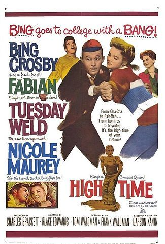 High Time 1960 DVD - Bing Crosby / Tuesday Weld