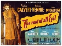 The Root of All Evil 1947 DVD - Phyllis Calvert / Michael Rennie
